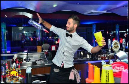 Hire a cocktail bartender in Brighton www.hireabarman.com