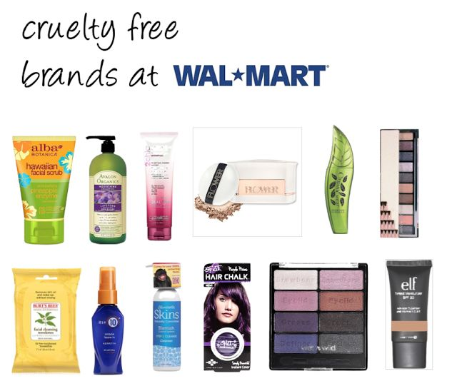 CRUELTY FREE BRANDS AT WALMART- CLICK FOR A LIST OF BRANDS | Beauty4Free2U