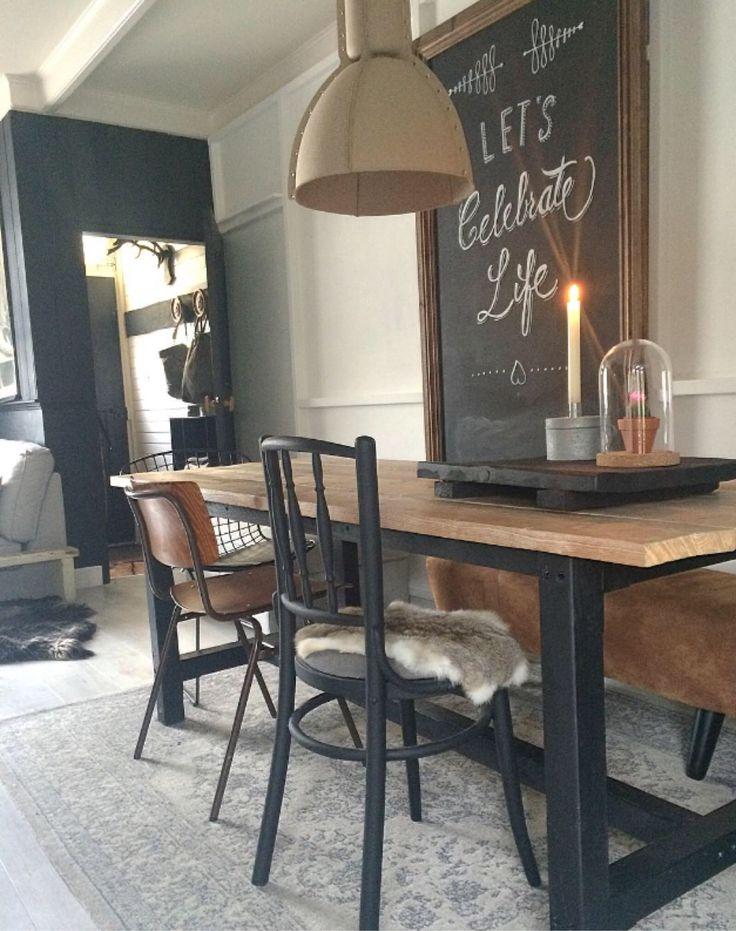 25 beste idee n over vintage industri le decoratie op pinterest rustieke industri le - Deco stijl chalet ...