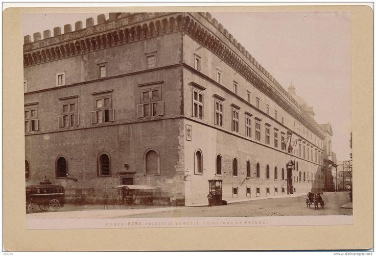 Photo - ITALIE - ROMA - Palazzo di Vénézia - Ciuliano da Maiano