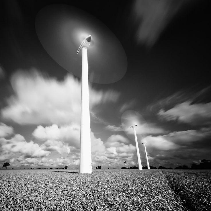 As promised a much longer exposure of the wind turbines at blood hill farm in Norfolk.  This time 20 second exposure.  I'm not too convinced such a long exposure works - in fact I have a very similar shot - in effect at 1/2 second without the ND110 the only thing this really gives are the clouds rushing by.  Still it was a good experiment.  Unfortunately after taking this and a number of others like it I've started to get worried by my verticals, they're just not right here.  At 10mm and…
