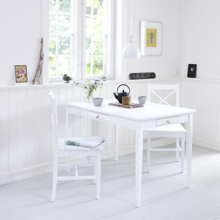 Table white, Oliver Furniture Denmark.   www.oliverfurniture.com