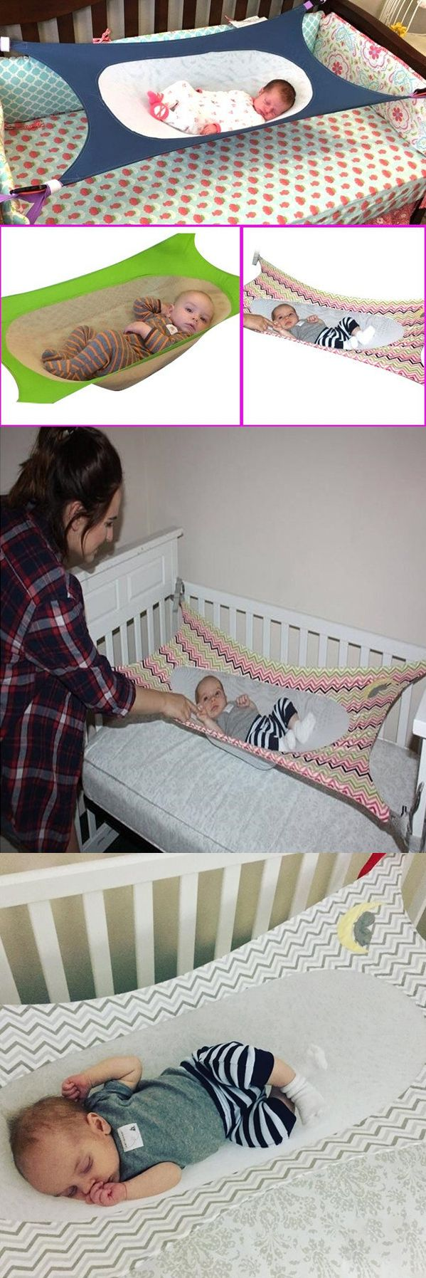 US$19.49 New European Style Baby Crib Hammock Dismountable Portable Infants Cot Bed