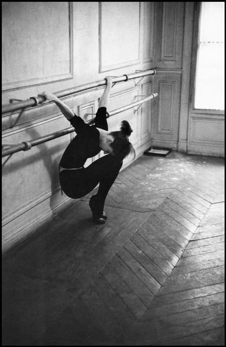 Audrey Hepburn photographed by David Seymour  Inspiration for my starting Ballet