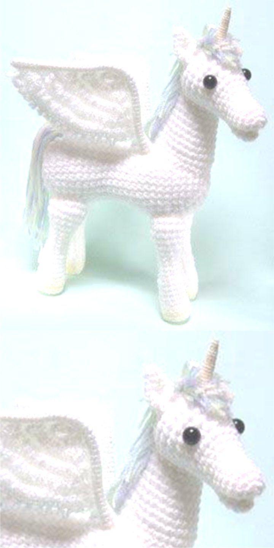Little unicorn amigurumi | 1440x720
