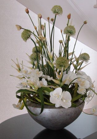 artificial silk flower arrangements, artificial trees - RTfact, Claygate, Surrey
