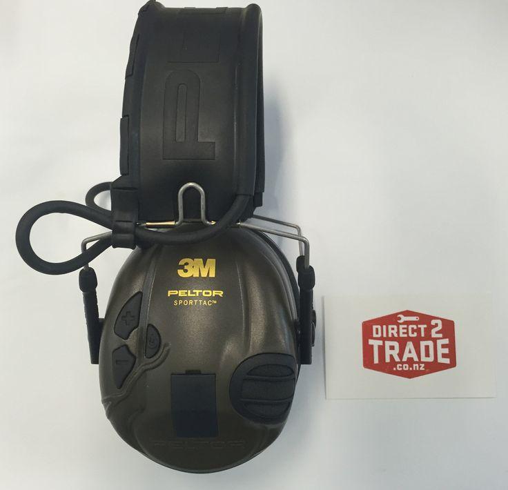 Review of Peltor SportTac Electronic Earmuff | Direct2Trade Blog