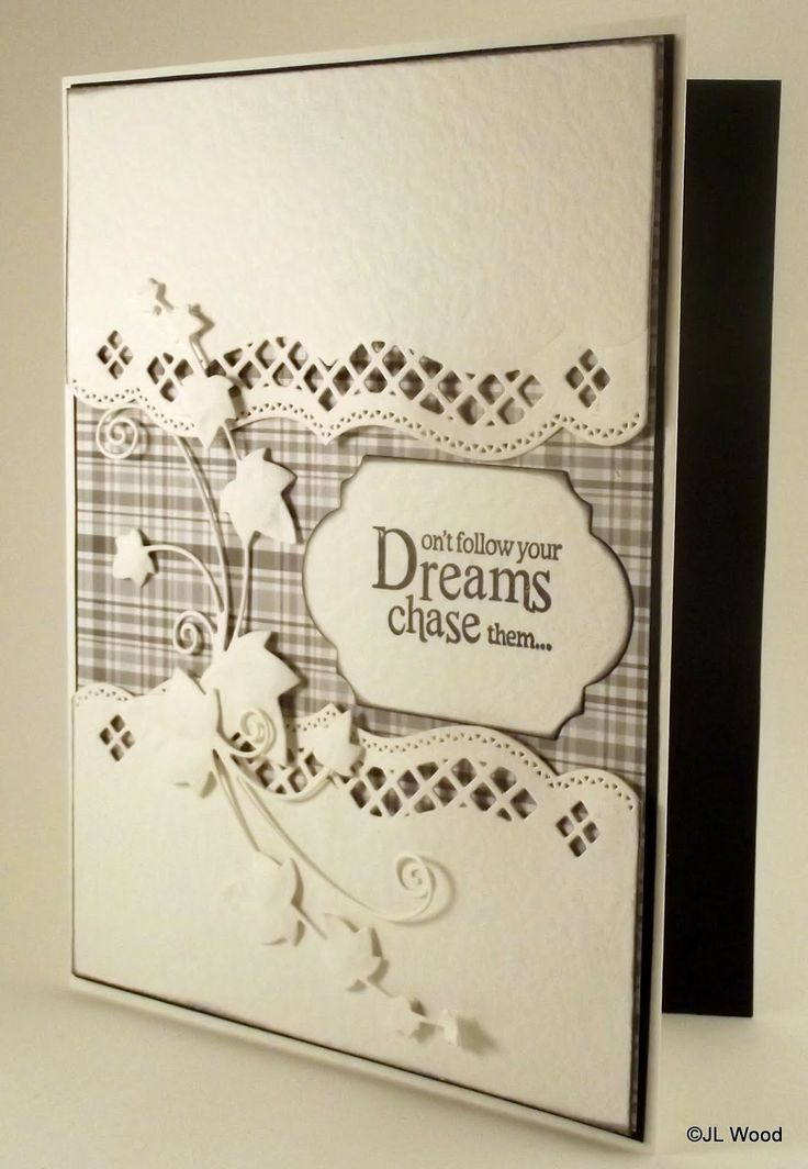 Adore this simple but stylish layout using Spellbinders elegibilities and could use Sue Wilsons Ivy dies