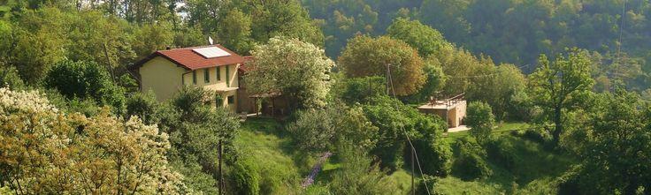 Agriturismo Verdita: Holiday apartments with jacuzzi in the garden - on the border Piemonte / Liguria (Italy) - www.verdita.com