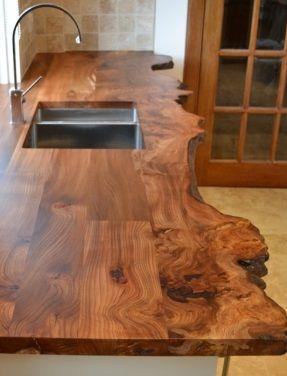 17 migliori idee su mobili da cucina in legno su pinterest for Piani di cucina con isola e camminare in dispensa