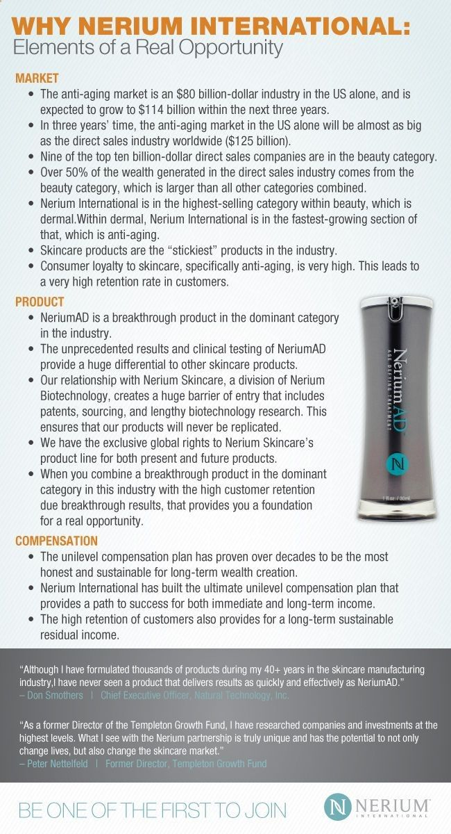 Nerium AD Results Before  After: Best Home Business Opportunity - Nerium International Brand Partners.