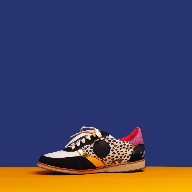 Trainer by Rollie #color #colour #sneaker #rollie #cinori #leopard #leopardprint #casual #kicks