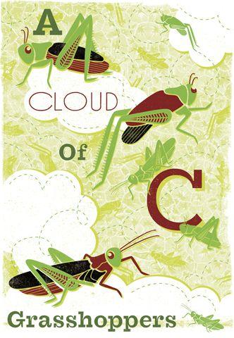 Woop Studios - A Cloud of Grasshoppers