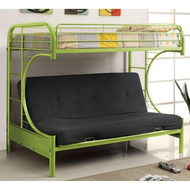 Best 25 Bunk bed with futon ideas on Pinterest  Black