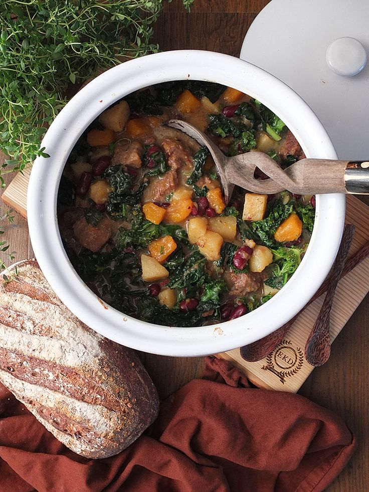 Pepperpot Stew - a deliciously tender beef stew perfect for these cold winter days. In collaboration with Simply Beef & Lamb. #ad
