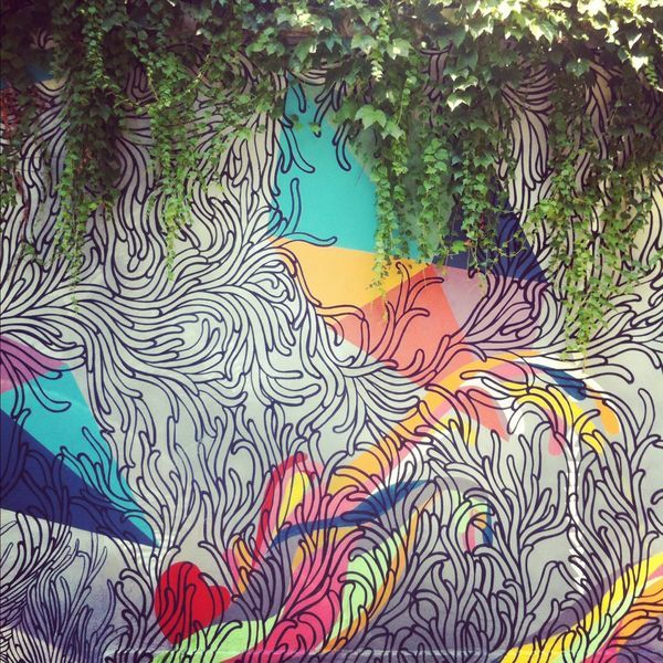 Mural in Milan by Gilles and Cecilie.