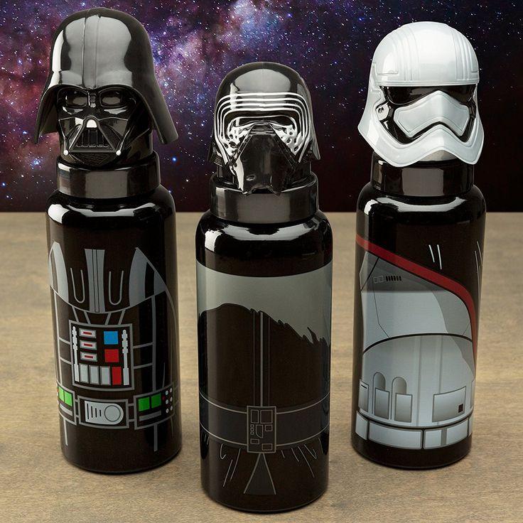 Star Wars 80303 Darth Vader Alu-Trinkflasche mit 3D-Schraubverschluss, 635 ml, 7 x 7 x 24 cm: Amazon.de: Spielzeug
