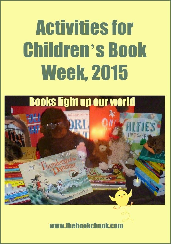 The Book Chook: Activities for Children's Book Week, 2015