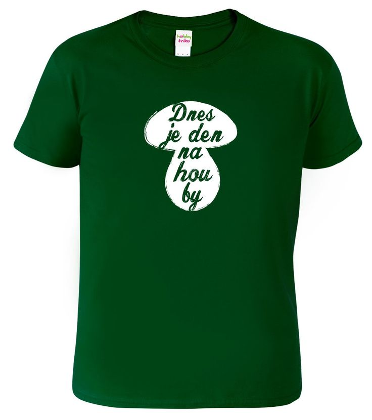 Pánské tričko na houby.