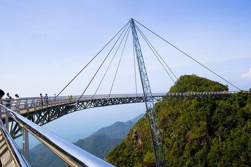 Langkawi Sky Bridge, Pulau Langkawi, Malaysia.