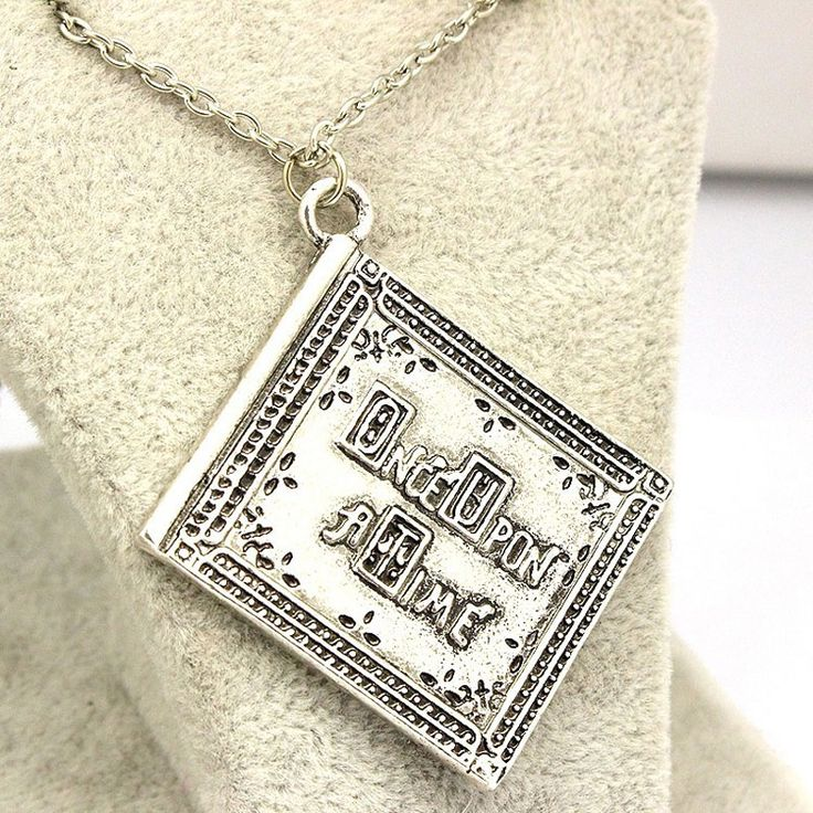 Free Shipping New Product High Quality 3D Henry Book Once Upon a Time Book Pendant Necklace Wholesale
