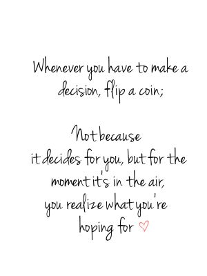 #quote flip a coin