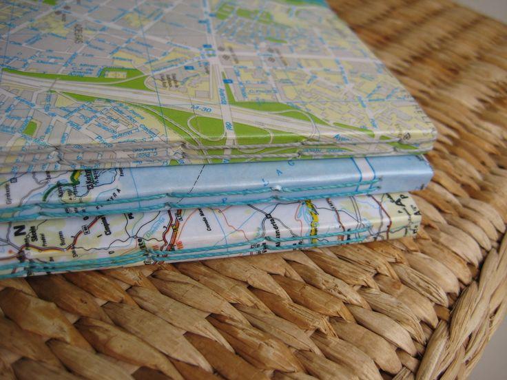 Caderninhos de viagem