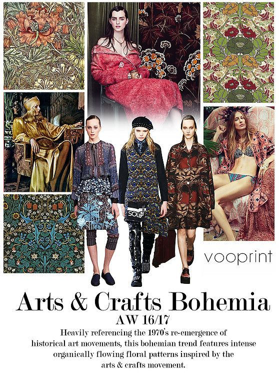 AW 16/17: Vootrend - Arts & Crafts Bohemia