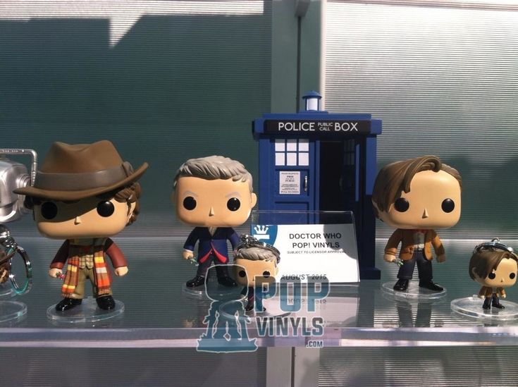 Funko Pop of Doctor Who for 2015!