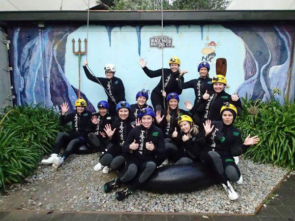 YOLO: Black water rafting NZ's Waitomo Caves