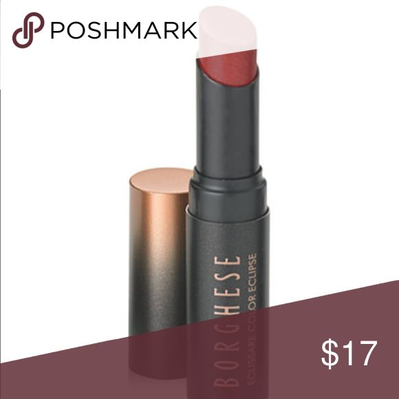 Borghese ColorStruck Lipstick in Release Color saturated lip creme, multidimensional infusion of pigment and pearl for a fuller lip illusion. Shine, smooth, creamy, radiant. Color: Release. New in Box Borghese Makeup Lipstick