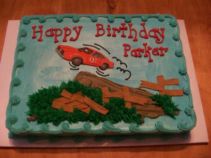 Dukes Of Hazzard Birthday Cake Ideas