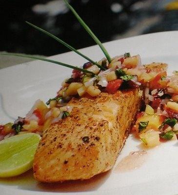 Salmon With Fruit Salsa Recipes — Dishmaps