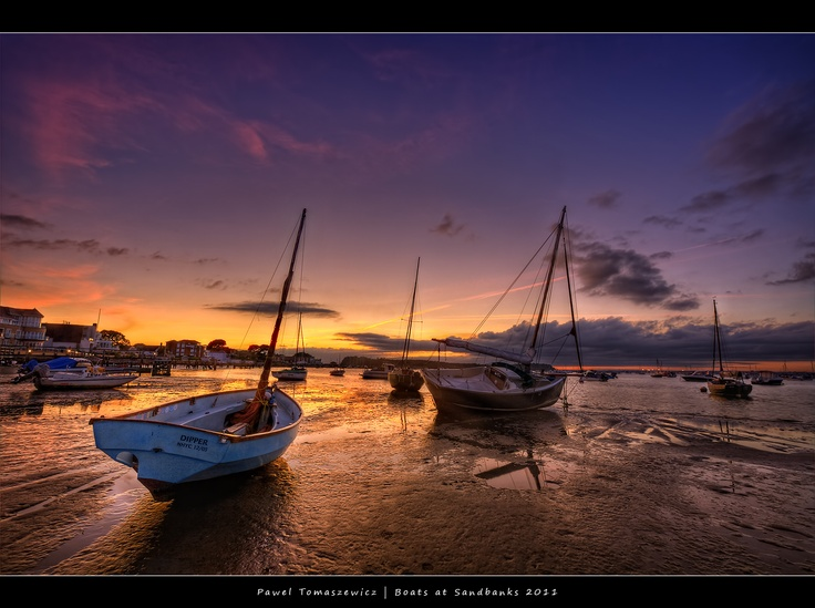 Boats at Sandbanks....breathtaking.