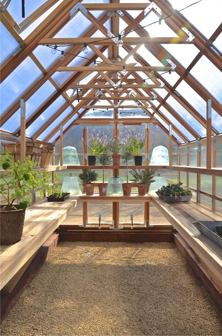 Perfect greenhouse! Ready for new dreams to flourish!