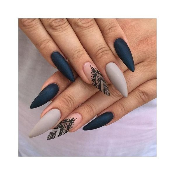 17 Best Ideas About Long Gel Nails On Pinterest