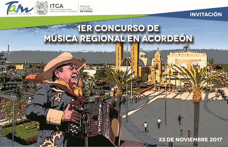 Convoca Gobierno de Tamaulipas a 1er Concurso de Música Regional en Acordeón