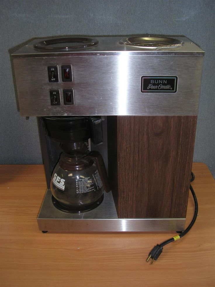 Bunn VPR Pour-O-Matic Coffee Maker Auction Items Pinterest