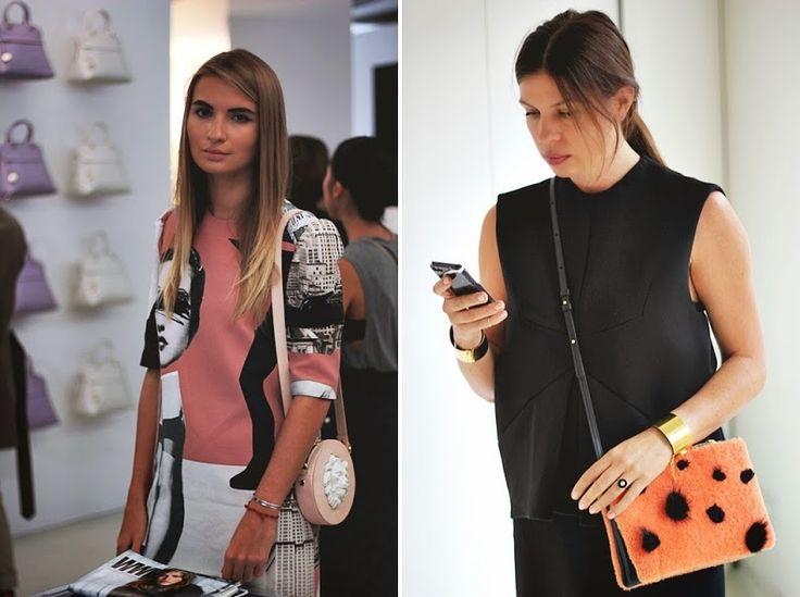 bag style inspiration furla showroom street style presentation milan fashion week