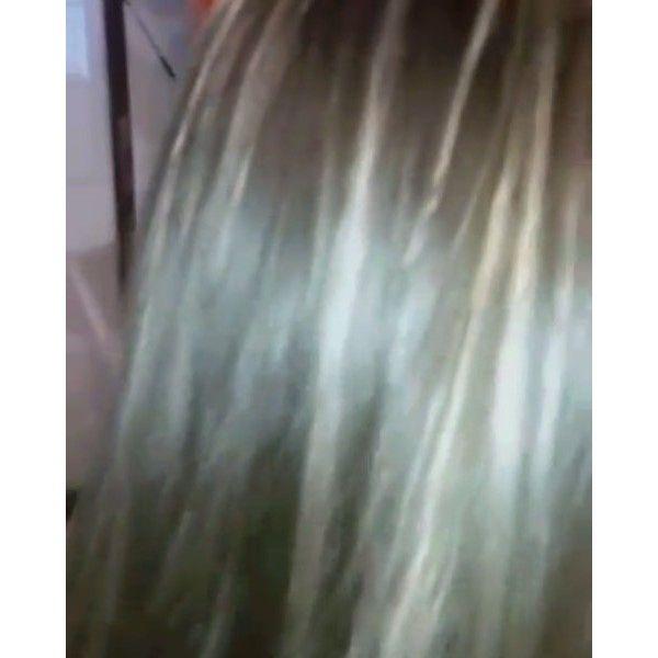 Retoque de color y mechas localizadas color mantequilla #haircolor #hair #hairinstagram #cabellosano #cabellohermoso #cabelloliso #Olaplex #olaplexvalparaiso #javianabeauty.