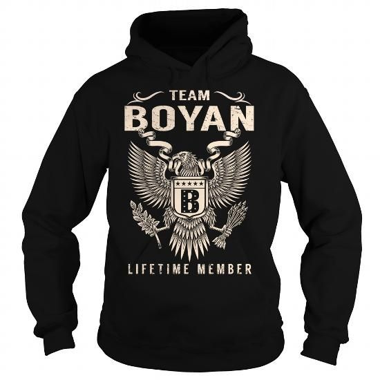 cool BOYAN T-shirt Hoodie - Team BOYAN Lifetime Member