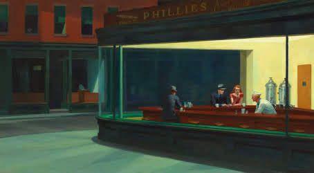 Edward Hopper - 'Nighthawks' (1942) Realism