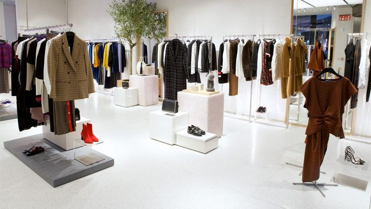 Zara's click and collect store