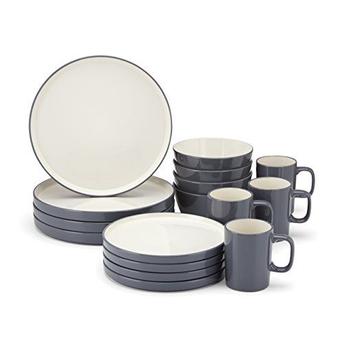 Food & Wine For Gorham Modern Farmhouse 16-Piece Dinnerware Set, Dusk Food & Wine Collection for Gorham http://smile.amazon.com/dp/B00IWNT5WG/ref=cm_sw_r_pi_dp_xO4hub0667ZSD