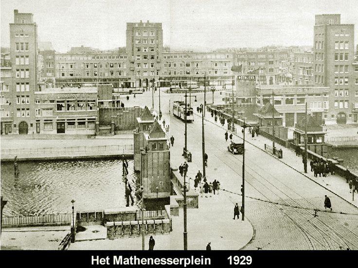 Het Mathenesserplein 1929