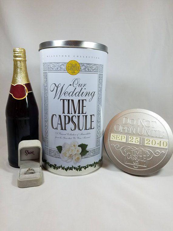 Etsy Must Have Wedding Time Capsule Keepsake Bridal Shower Gift