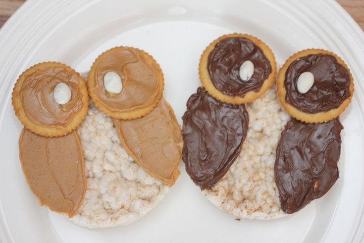 Repeat Crafter Me: Rice Cake Owl SnackRicecakeowljpg 640427, Creative Food, Rice Cake, Owls Snacks, Cake Owls, Snacks Ideas, Owls Stuff, Repeat Crafter Me, Kids Food