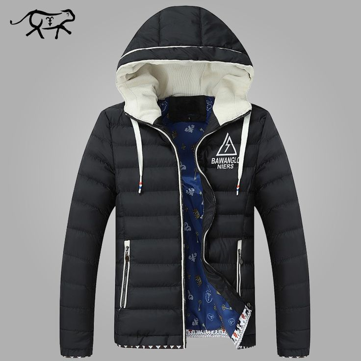 2017 New Brand Winter Jacket Men Hooded Fashion Clothes Men's Jackets and coats Casual Mens Parkas Thicken Warm Coat for Male