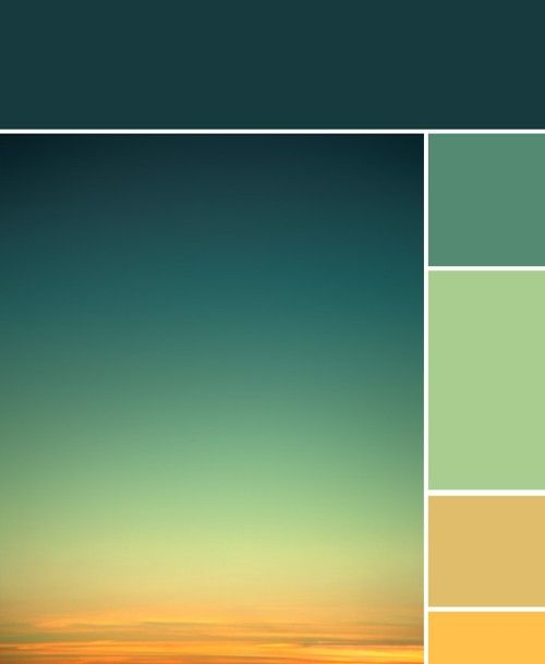Very soothing colors