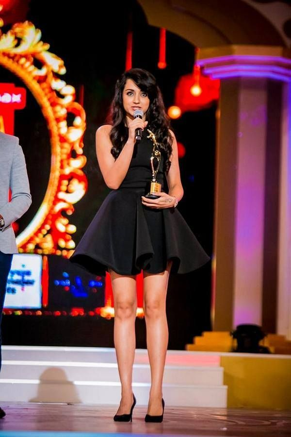 Trisha at SIIMA Awards 2014. #Kollywood #Tollywood #Mollywood #Sandalwood #Fashion #Style #Beauty